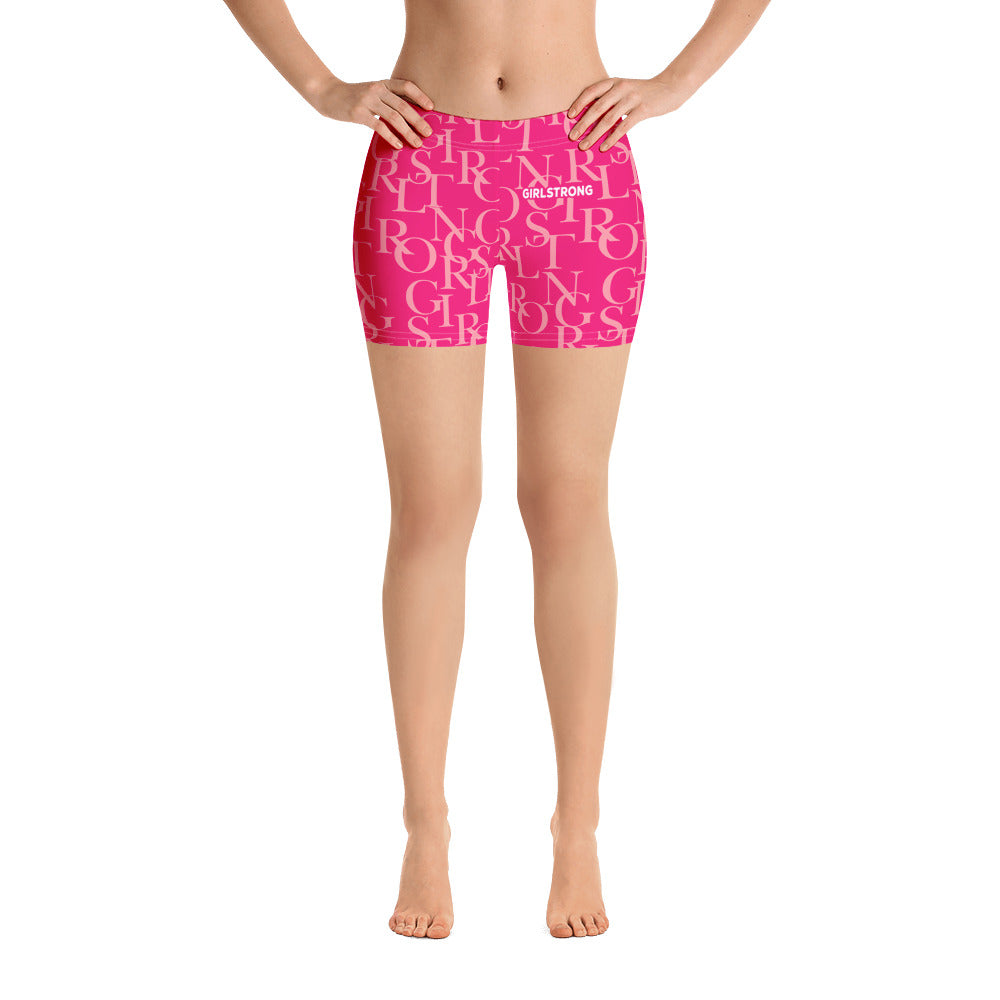 ELEVATED ESSENTIALS, THE PERFECT SPORT SHORTS HOT PINK