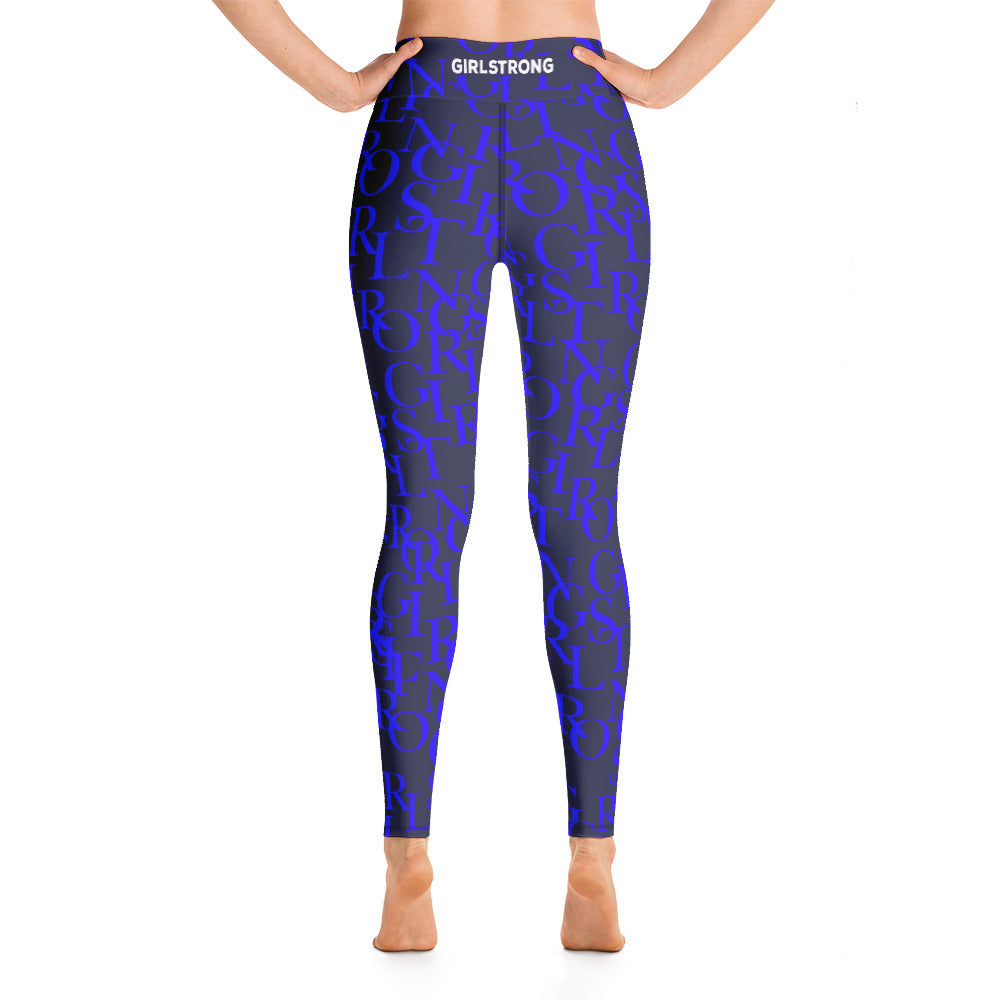 ELEVATED ESSENTIALS, THE PERFECT HIGH WAISTBAND LEGGING NAVY GIRLSTRONG