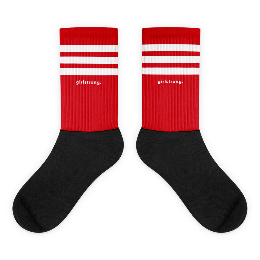EVERYDAY ESSENTIALS, THE PERFECT SOCKS RED