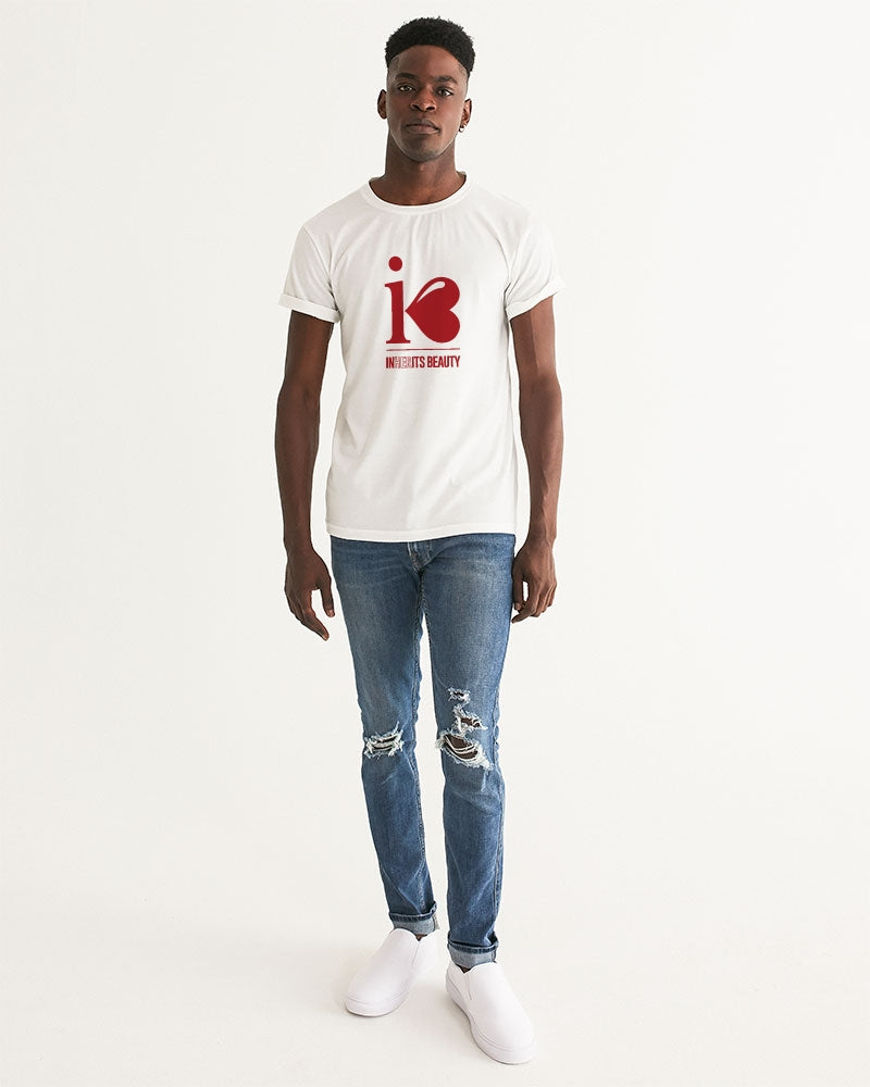"Inherits Beauty ""Red Logo"" - Men's Graphic Tee"