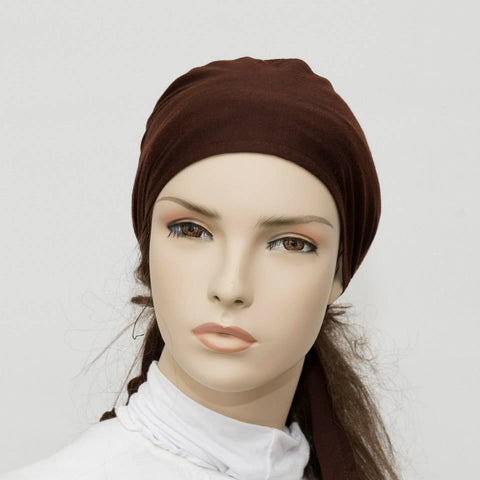 Dark Brown Breathable String Underscarf
