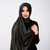 Black Gleam Hijab