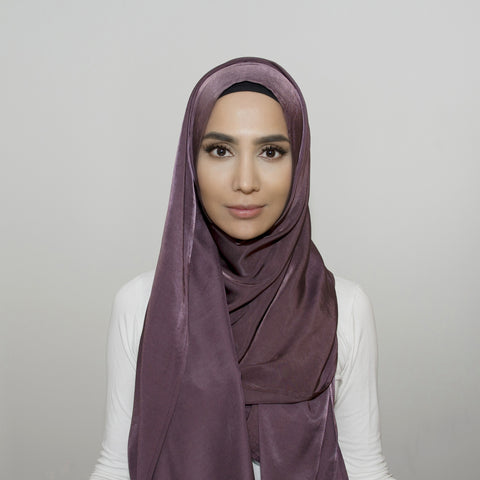 Glam Fig Purple Hijab