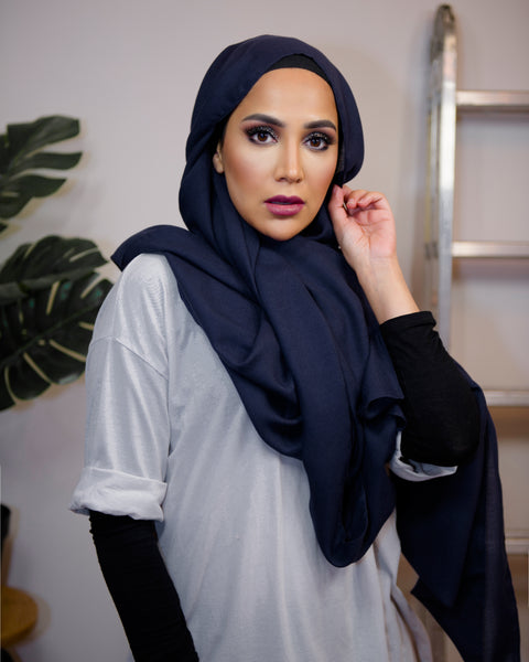 Dark Denim - Urban Maxi Hijab