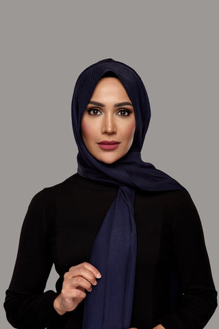 Nighttime Navy - Day Glam Hijab