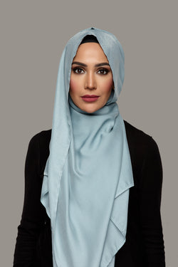 Stonewash Blue - Day Glam Hijab