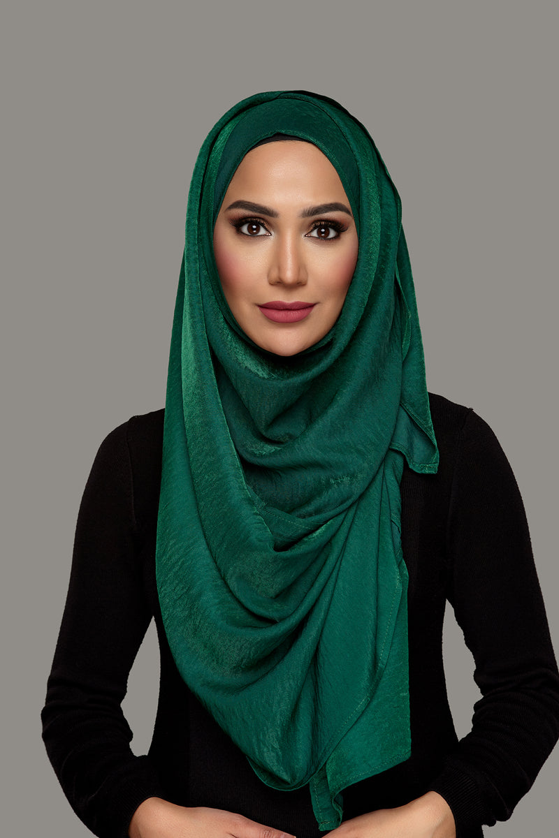 Emerald Green - Day Glam Hoojab