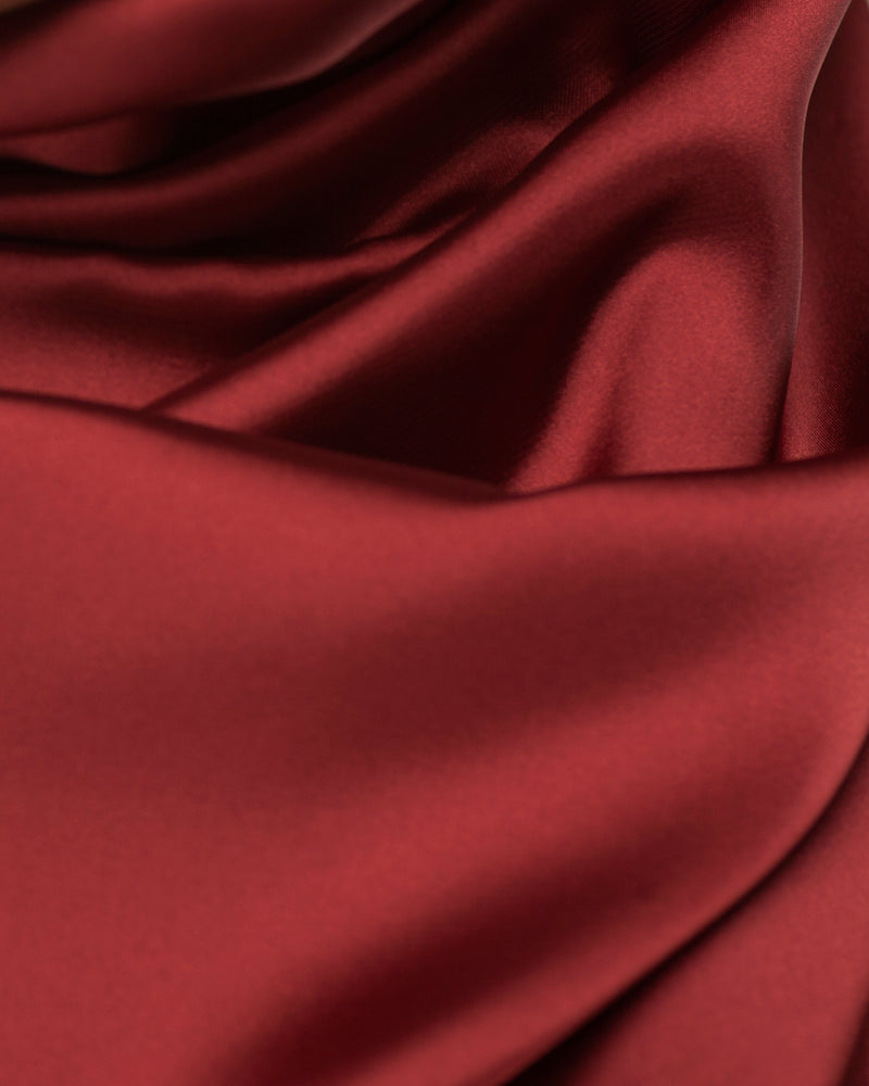 Maroon - Satin Large Hijab