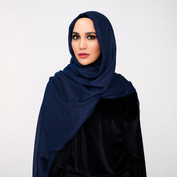 Navy Essential Hijab