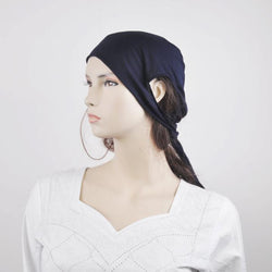 Navy Breathable Earhole Underscarves