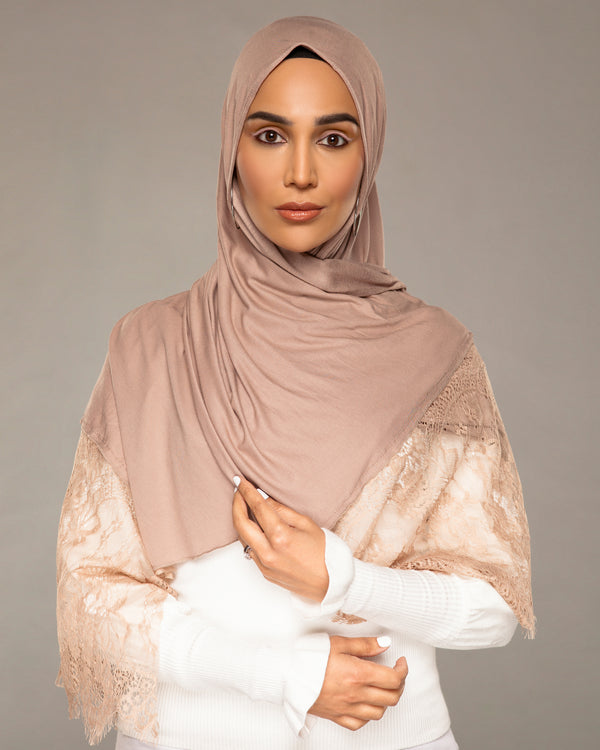 Nude EasyWrap Jersey Hijab