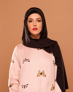 Dark - Chocolate Petite Hoojab (Black)