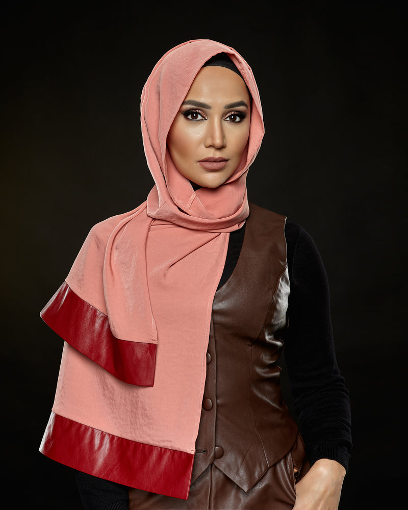 Fancy - Pleather Edge Petite Hoojab