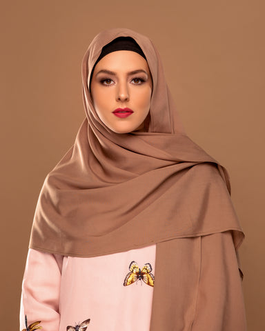 Toffee - Chocolate Hijab