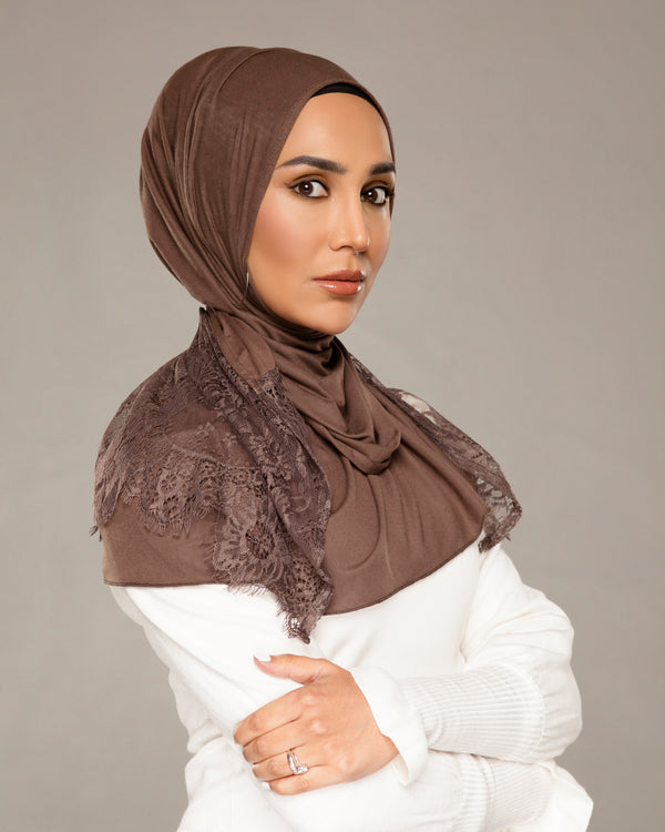 Taupe EasyWrap Jersey Hijab