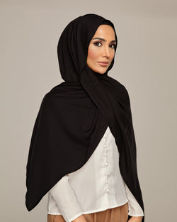 Black -Tea Party Petite Hoojab
