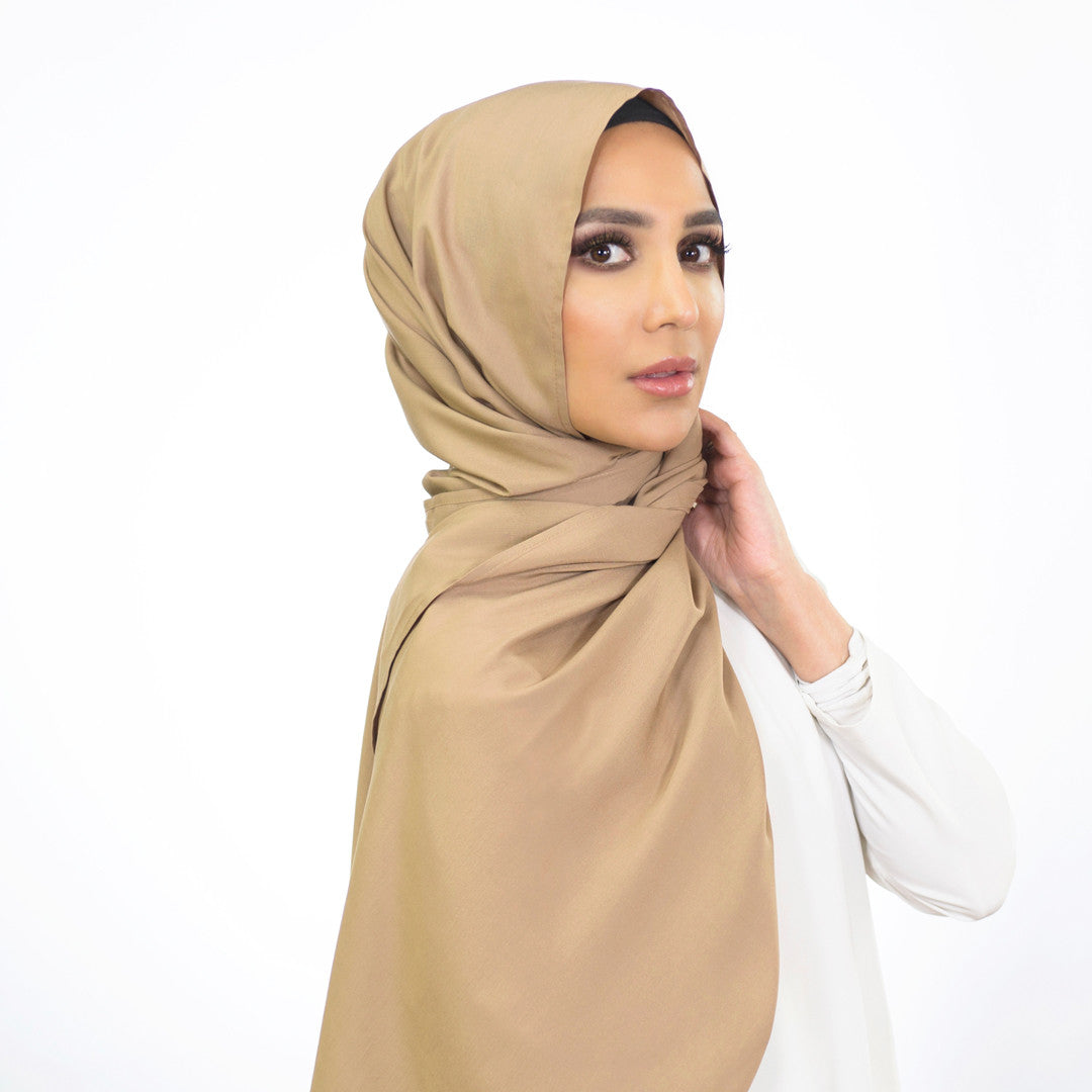 Weightless Beige Hijab