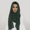 Smooth Bottle Green Hijab