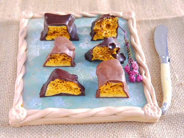 Cinder Toffee and Honeycomb