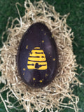 Beehive Cinder Toffee Egg (225g) Available in Milk or Dark Chocolate