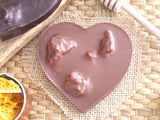 Cinder Toffee Heart