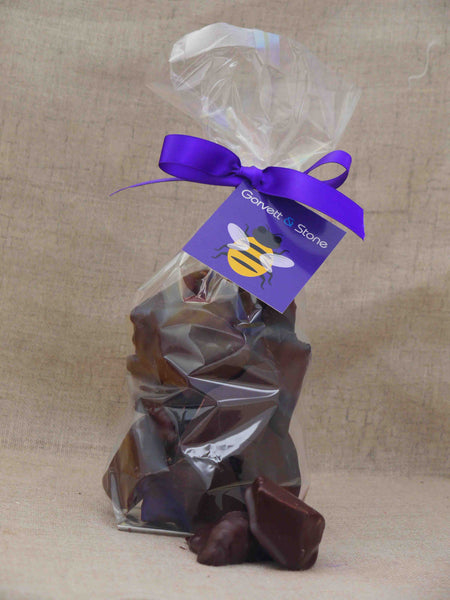Cinder Toffee in Dark Chocolate - Gorvett & Stone - 1