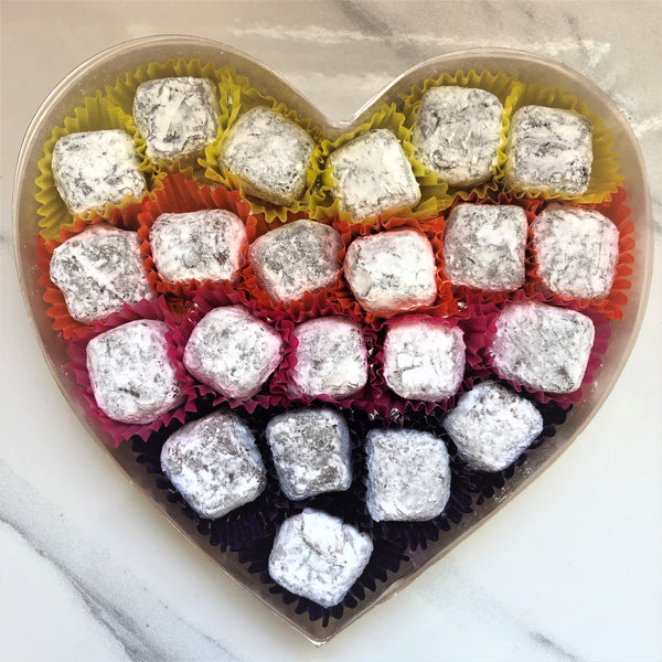 Fairmile Fizz Truffles Heart Box