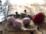 Strawberry Gin Fizz Truffles