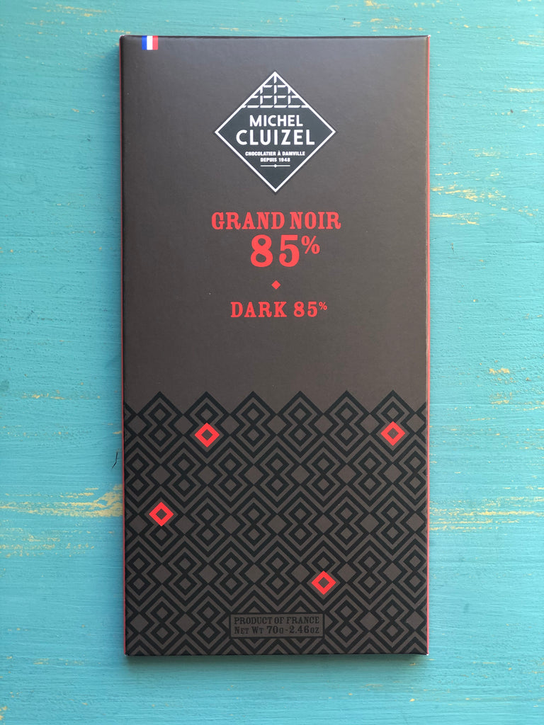 Michel Cluizel Grand Noir 85% Bar