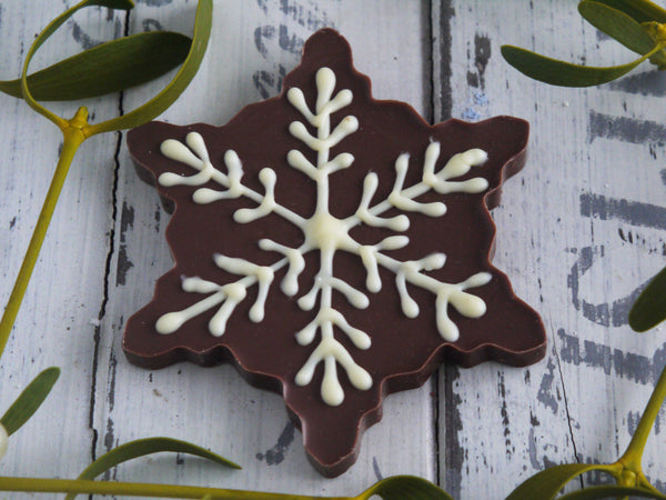 Milk Chocolate Snowflake
