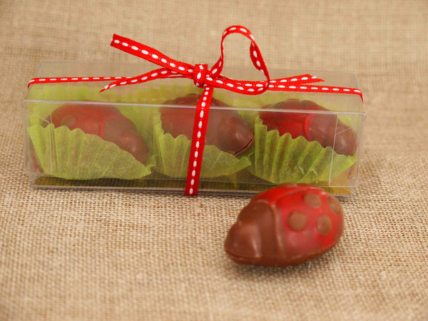 Ladybirds in Milk Chocolate - Gorvett & Stone - 1
