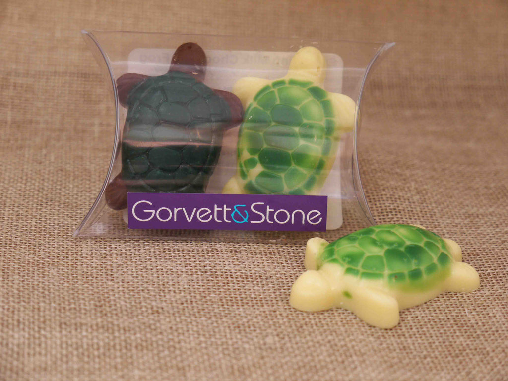 Turtles in Milk and White Chocolate - Gorvett & Stone