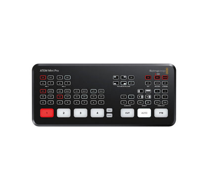 Blackmagic Design ATEM Mini Pro ISO HDMI Live Stream Switcher ¡EN TRANSITO DE IMPORTACIÓN!