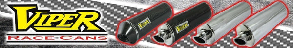 Viper Race Exhaust Cans