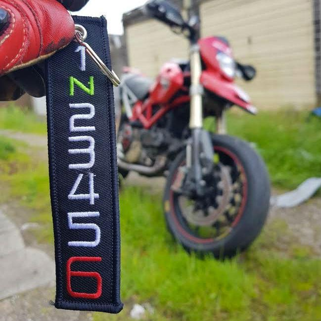 Motorcycle Key Tags | Embroided Key Tags for Bikers – LD