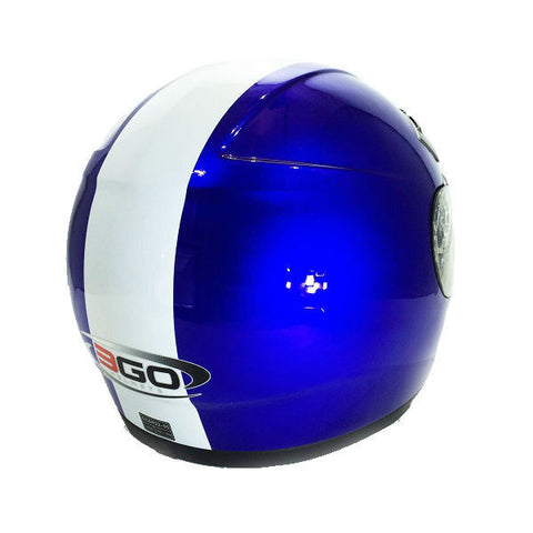 3GO E35 Helmet - Blue | White