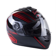 3GO E5V GT Helmet - Red | Black