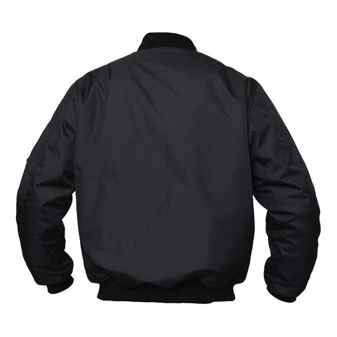 ARMR Aramid Armoured Bomber Jacket - Black