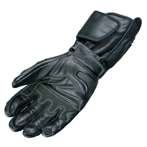 ARMR Moto S470 Leather Gloves | Black