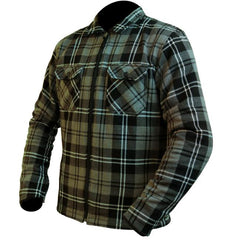 ARMR Moto Aramid Shirt Jacket - Black | Grey