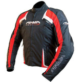 ARMR Moto Eyoshi Textile Jacket | Black | Red