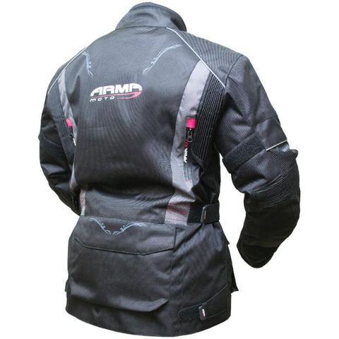 ARMR Moto Kiso 2 Ladies Jacket | Black | Grey