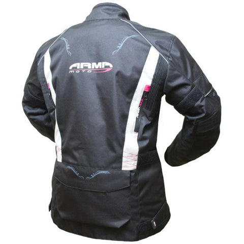 ARMR Moto Kiso 2 Ladies Jacket | Black | Stone