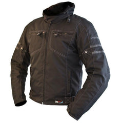 ARMR Moto Tsuma Waterproof Hooded Jacket | Black
