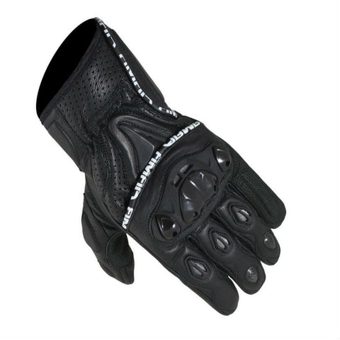 ARMR Moto SHL445 Leather Gloves | Black
