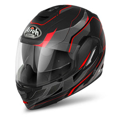 Airoh Rev Helmet Revolution - Black | Red