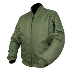 ARMR Aramid Armoured Bomber Jacket - Olive Green