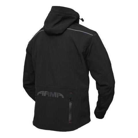 ARMR Sukuta Softshell Armoured Jacket - Black