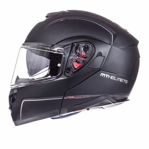 MT Atom Helmet - Matt Black