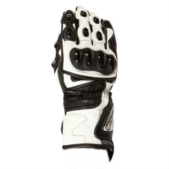 Buffalo BR30 Leather Gloves | White | Black